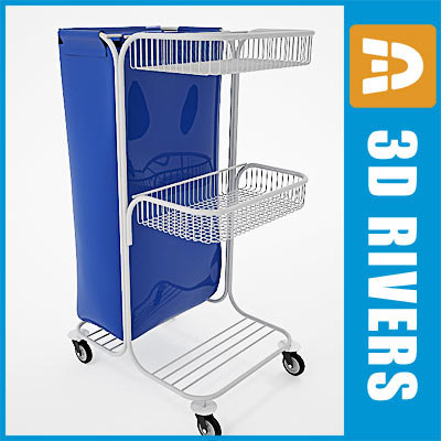 Housekeeping cart 01 by 3DRivers