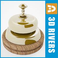 3d model hotel bell