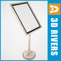 menu stand 3ds free