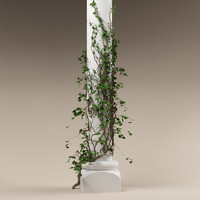 3d model plant column