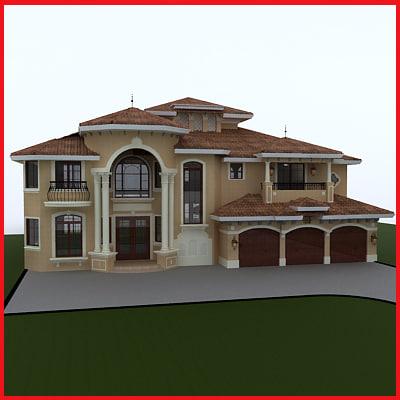 House 3d model House 3d model