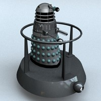 3d 3ds mark 3 dalek hoverbout