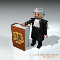 Lawyer toy figure