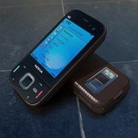 3d model nokia n85 phone