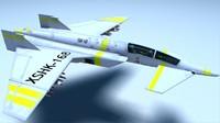 jet plane 3d lwo
