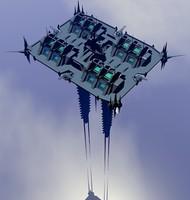 3d sky platform model