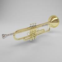 trumpet brass 3ds