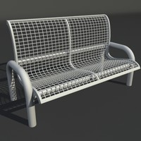 3ds max wire bench