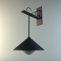 exterior hanging light 3d 3ds