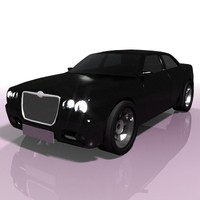 3d model chrysler c 300