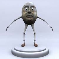 max patato character rigged
