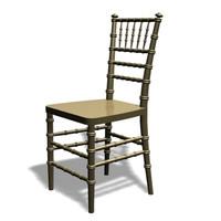 chiavari chair 3d model