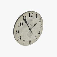 3dsmax antique clock