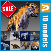 Endangered animals collection by 3DRivers