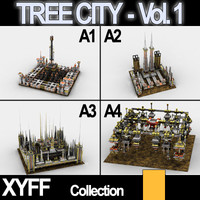 Collection - Xyff Tree City Blocks - Vol. 1
