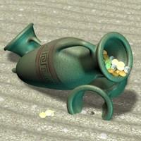 amphora 3d max