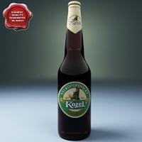 Beer botle kozel