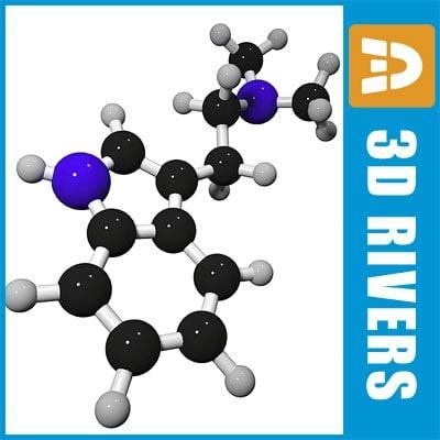 Dimethyltryptamine by 3DRivers