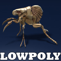 Insect monster - lowpoly model