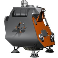 Lost in Space The POD Sci Fi Ship Space craft