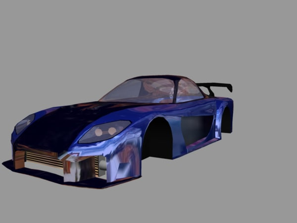 free 3ds mode car rx7 - veilside rx7... by jimiiscool