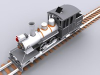3d steam engine forney
