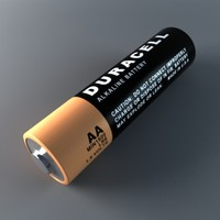 duracell battery obj