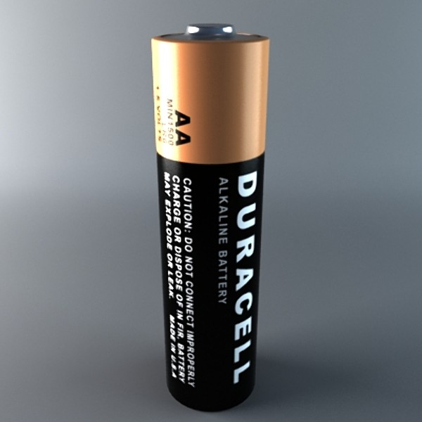 duracell battery obj - Duracell Battery... by the_dd