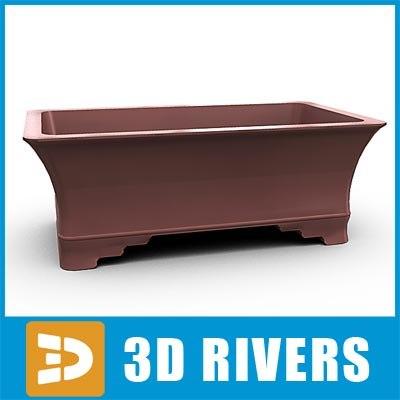 Bonsai planter  02 by 3DRivers