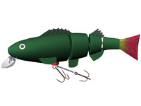 free fishing lure 3d model