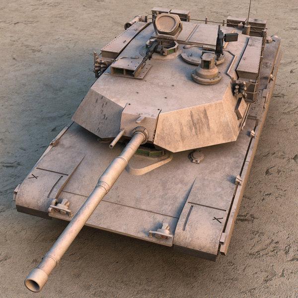 M1A1 Abrams US tank