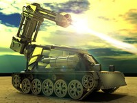drone modern tank 3ds