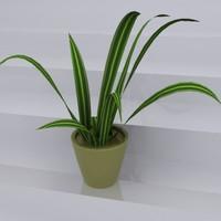 3d model plant simulation materials