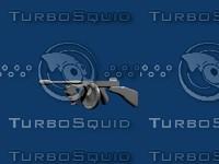 3d tommy gun model