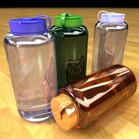cinema4d nalgene water bottle