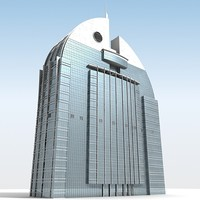 3ds max al anoud tower