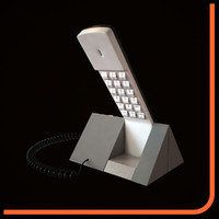 telephone beocom 1401 3d model