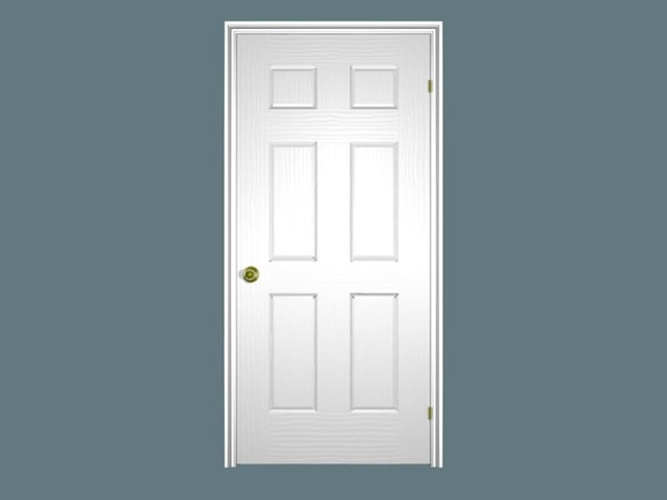 6-panel door casing 3ds - 6-panel Door... by Shembol Studio