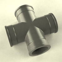 3d model pipe industrial