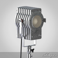 movie stage light 3ds