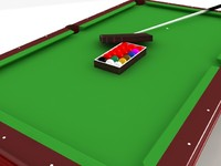 maya snooker set table pool