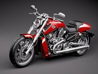 harley crusier 3ds