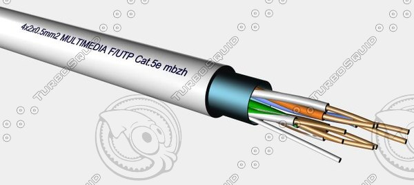 4x2x0.5mm F-UTP Cat5e MBZH.max
