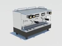 3ds max cappuccino machine coffee flavor