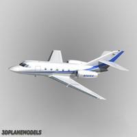 Dassault Falcon 20/200 Private livery 5