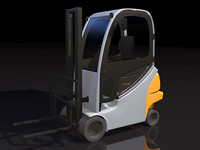 3d model forklift lift truck