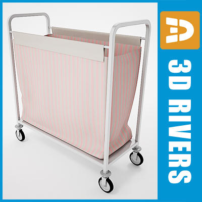 Laundry cart 01 by 3DRivers