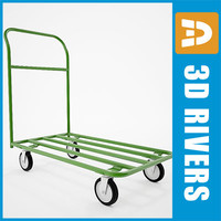 Luggage cart 06 by 3DRivers