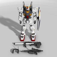 gundam mk-ii 3d model
