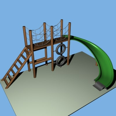 Playground Pieces Set
